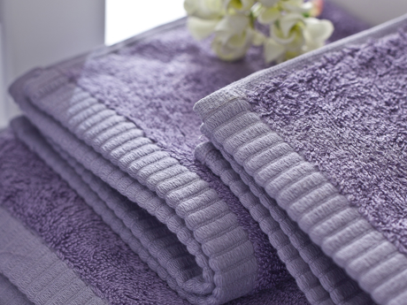 Picture of Leafy Hand Towel 30x50 cm Lilac