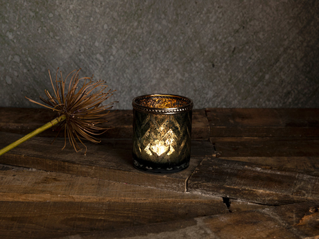 Picture of Versus Candle Holder 7,5x8 cm Dark Green