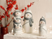 Picture of Cheerful Snowman Soft B DECORATIVE OBJECT Beyaz