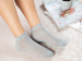 Picture of Fishnet Cotton SOCKS Mix Gray