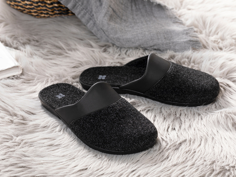 Picture of House Polyestere HOME SLIPPERS 41 Black
