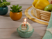 Picture of Cupcake CANDLE 7x7x17 cm Cream